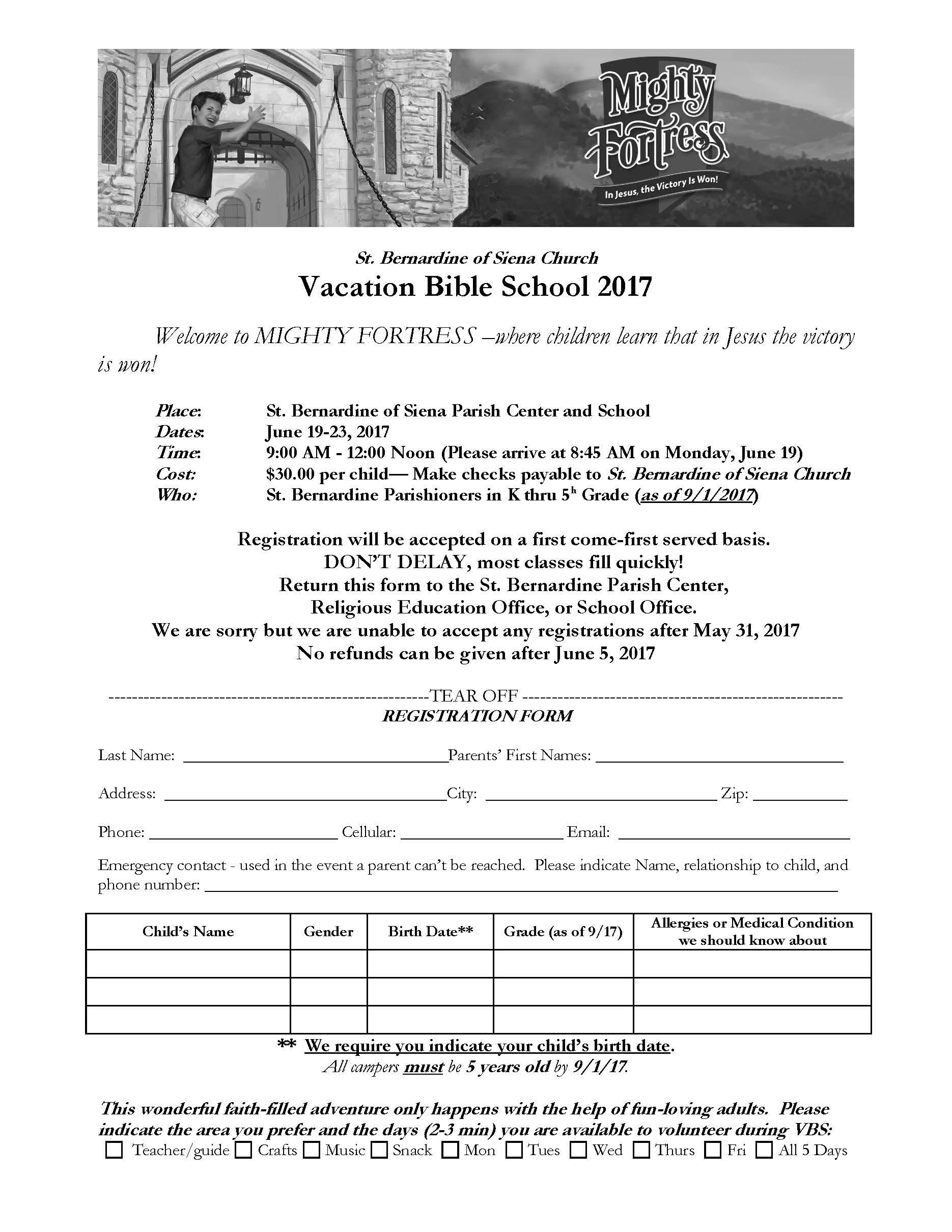 St bernardine of siena parish religious education other religious education programs yelopaper Gallery